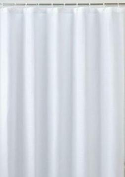 LiBa Mildew Resistant Fabric Shower Curtain Waterproof and W