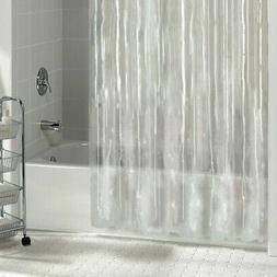 Mildew Resistant Heavyweight Vinyl Shower Curtain Liner W/Ma