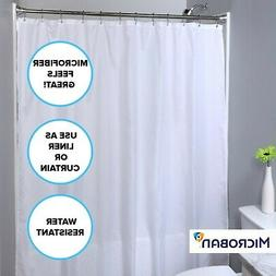 mildew resistant polyester shower curtain