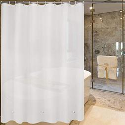 Shower Curtain Liner Mildew Resistant PEVA 8G Anti-Bacterial