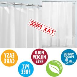 Mildew Resistant Shower Curtain Liner Bathroom Waterproof Co