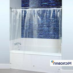 Mildew Resistant Shower Curtain Liner with Microban
