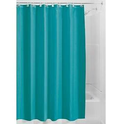 InterDesign Mildew-Free Water-Repellent Fabric Shower Curtai