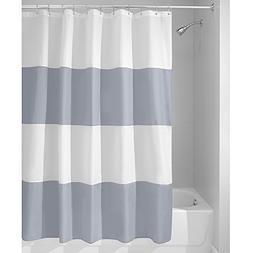 InterDesign Mildew-Free Water-Repellent Zeno Fabric Shower C