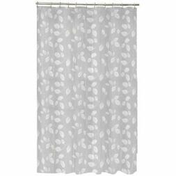 Maytex Mills 60090 Just Leaves Shower Curtain, White Home &a