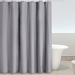 Eforgift Modern Grey Shower Curtain with Hooks Mildew Proof