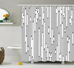 Ambesonne Modern Art Home Decor Shower Curtain by, Minimalis