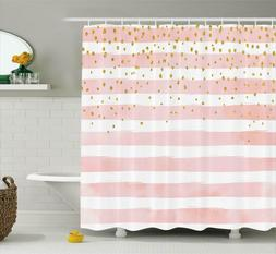 Modern Shower Curtain by Ambesonne