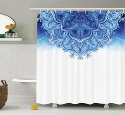 Shower Curtain Moroccan Decor Collection