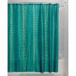 "Moxi Fabric Shower Curtain 72"" x 72"" Aquamarine Blue/Green"
