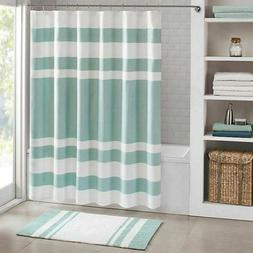 Madison Park Spa Waffle Shower Curtain With 3M Treatment - W
