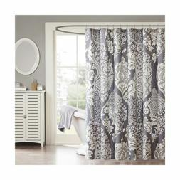 "Madison Park MP70-1920 Vienna Shower Curtain Floral 72"" x 72"