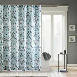 Madison Park MP70-2647 Capris Microfiber Shower Curtain 72x7