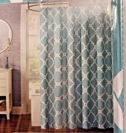 Madison Park MPE70-082 Shower Curtain 72x72 Aqua
