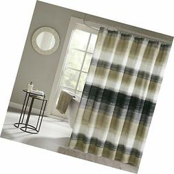 Madison Park MPE70-173 Essentials Saben Printed Shower Curta