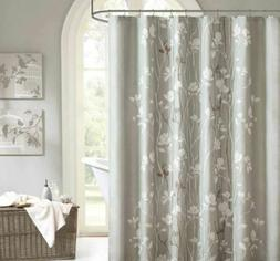 Madison Park MPE70-124 Essentials Vaughn Fabric Shower Curta