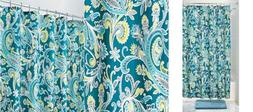 Interdesign Multi Harper Paisley Fabric Shower Curtain 72 X