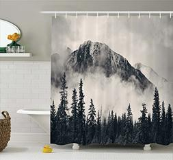 Ambesonne National Parks Home Decor Shower Curtain by, Canad