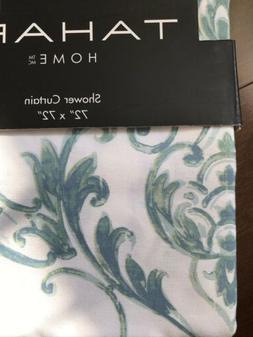 NEW Tahari Home Chinoiserie Damask Fabric Shower Curtain  72