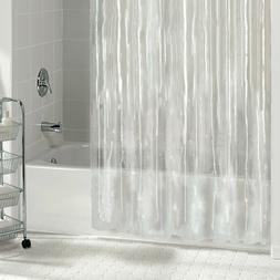 NEW CLEAR WATER RESISTANT BATHROOM SHOWER CURTAIN VINYL LINE