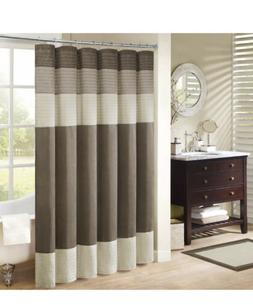 New Madison Park Faux Silk Amherst 72-Inch x 72-Inch Shower
