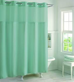 NEW Hookless High Point PEVA Lined Shower Curtain