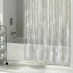 New Solid Water Repellant Bathroom Shower Curtain Liner Clea