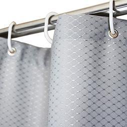 Eforgift Classic Heavy Duty Shower Curtain Gray Mold Resista