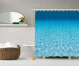 Ambesonne Ocean Decor Collection, Tranquil Underwater Scene