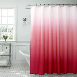 Creative Home Ideas Ombre Textured Shower Curtain