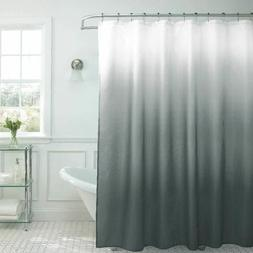 Creative Home Ideas Ombre Waffle Weave Shower Curtain with M