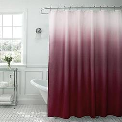 67fc66c2a66 Sweet Home Collection Ombre Waffle Weave Shower Curtain with