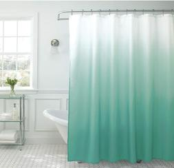 Creative Home Ideas Ombre Waffle Weave Shower Curtain with 1