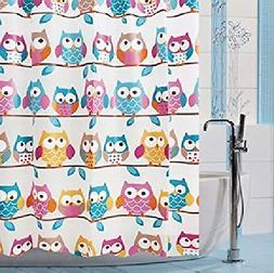 OWL pattern Shower Curtain Fashion Design High qulity 71x71