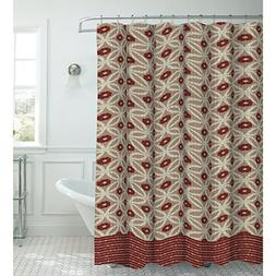 Creative Home Ideas Oxford Weave Textured 13-Piece Shower Cu