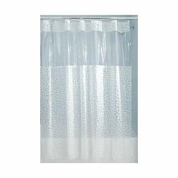 InterDesign Pebblz PVC-Free PEVA Shower Curtain, Stall, 54""