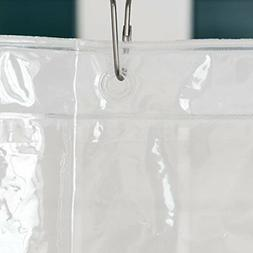 LiBa PEVA 3G Lightweight Shower Curtain Liner Pack of 2 Mold