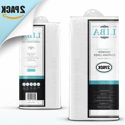 Liba Peva 3G Lightweight Shower Curtain Liner  - Mold And Mi