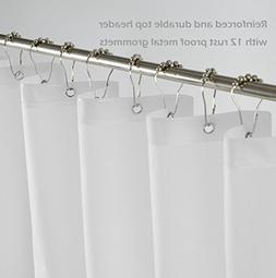 Mrs.Awesome PEVA 5G Mold & Mildew Resistant Odorless Shower