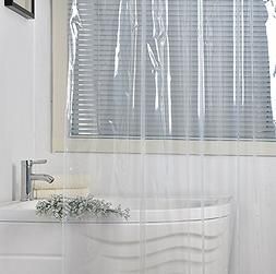 Eforgift Vinyl Shower Curtain Liner Long Size Non-Toxic 100%
