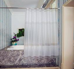 ABC life Shower Curtains SGS Certified 100% Safety PEVA Mate