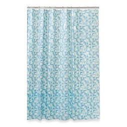 Maytex Peva Stained Glass 70-Inch x 72-Inch Shower Curtain i