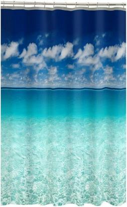 Maytex Photoreal Escape Waterproof PEVA Shower Curtain 70x72