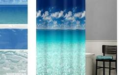 MAYTEX Photoreal Escape Waterproof PEVA Shower Curtain 70X72