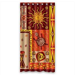 Polyester Color Block Shower Curtains Width X Height / 36 X