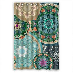 Beeyoo Polyester Circle Bathroom Curtains Width X Height / 4