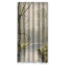 TonyLegner Polyester Beautiful Scenery Landscape Painting Ba