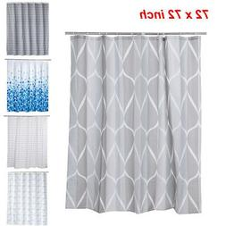 Polyester Shower Curtain Set 72x72inch Long Rustic Funny Cur