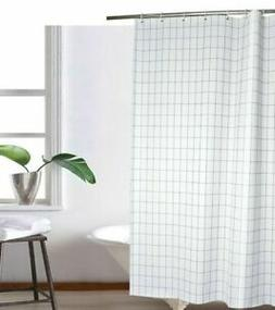 Hookless Polyester Snap-in Shower Curtain Liner and Flex-On