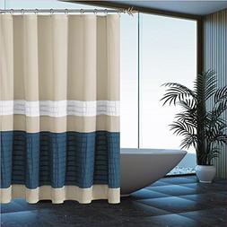 Duck River Textiles Portico Pleated Mildew Resistant Shower